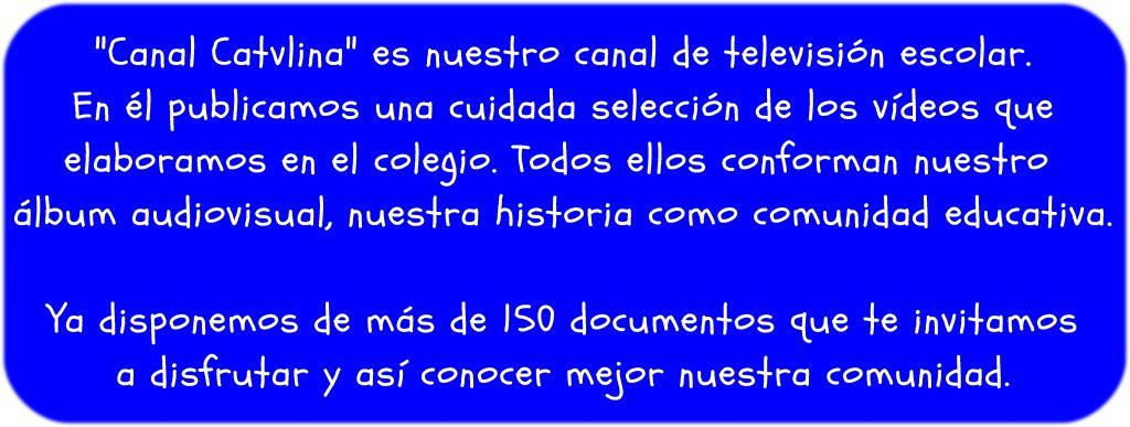 "Canal Catvlina 1024x387 - ""Canal CaTVlina"" y ""Con voz Propia"""