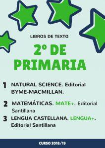 1º de primaria 212x300 - Libros de texto 2018-2019.