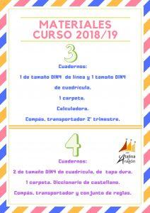 CURSOMATERIAL1819 1 212x300 - Materiales escolares 2018-2019.