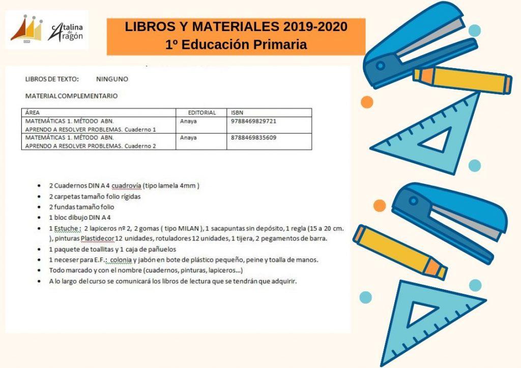 1º pri 1024x724 - CURSO 2019/20:LIBROS Y MATERIALES