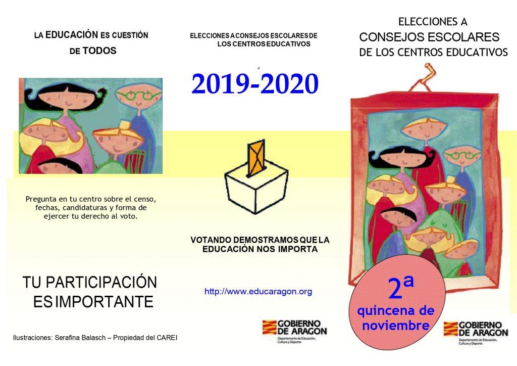 folleto elecciones 2019 20 page 0001 1024x724 - ELECCIONES A CONSEJO ESCOLAR 2019/20