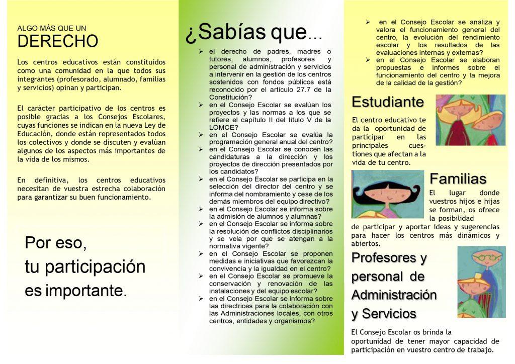folleto elecciones 2019 20 page 0002 1024x724 - ELECCIONES A CONSEJO ESCOLAR 2019/20