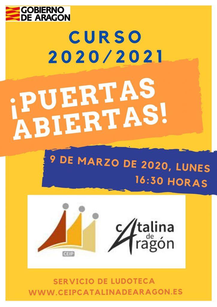 Summer Workshop School Poster 724x1024 - PUERTAS ABIERTAS Y PROCESO DE ADMISIÓN 2020/21